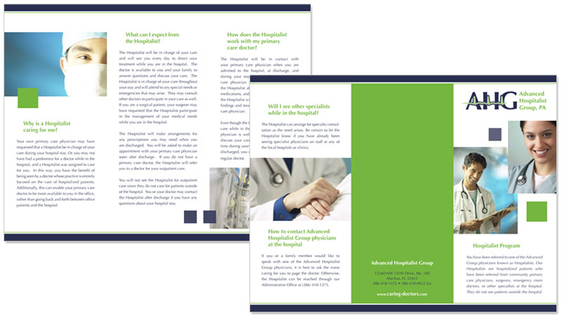 medical brochure example